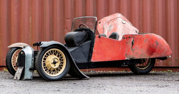 Morgan 3 Wheeler Project Car