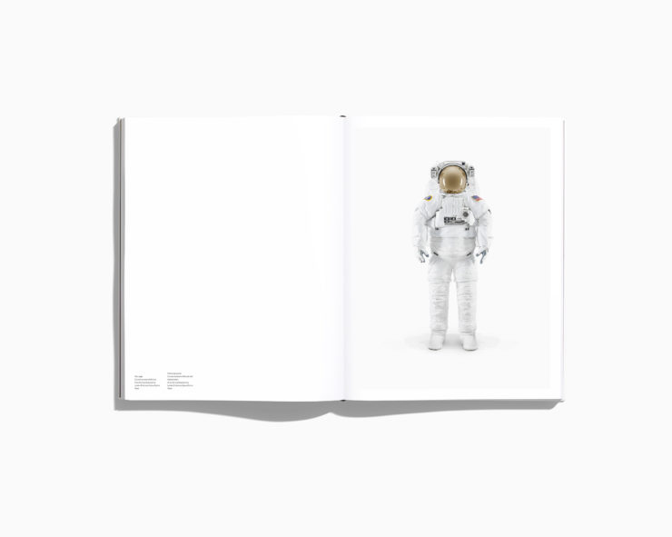 NASA - Past And Present Dreams Of The Future by Benedict Redgrove Space Suit