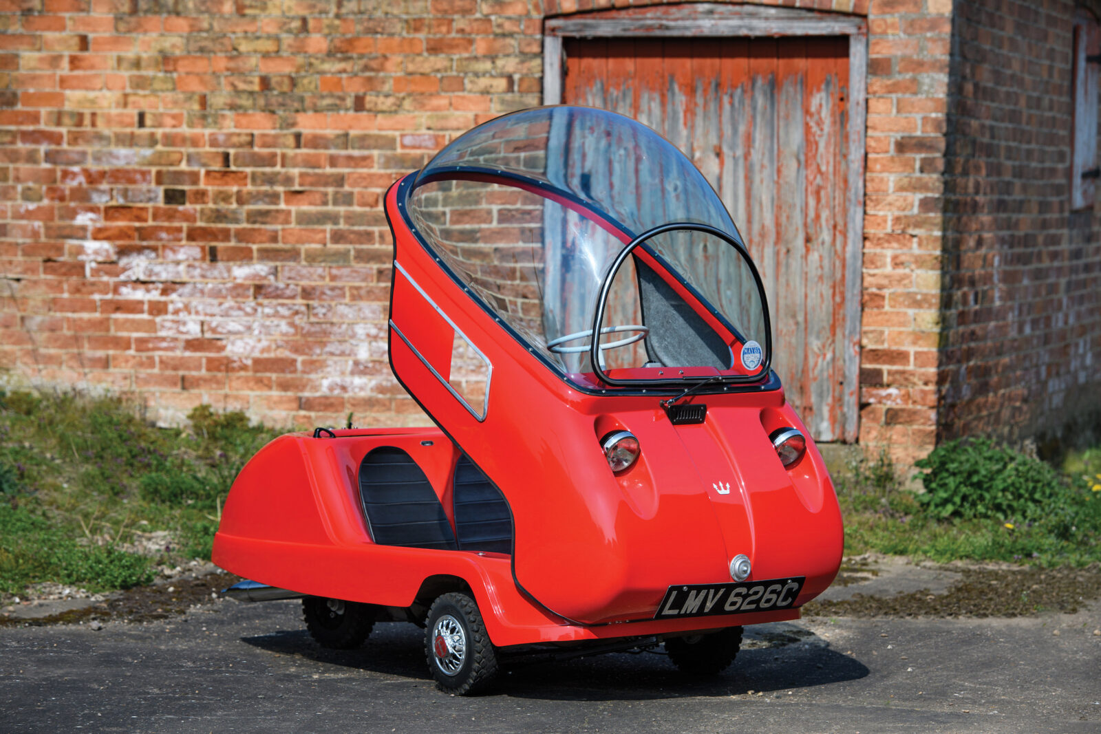 Peel Trident Was The World's Smallest Car - It's Now Worth A Cool $100,000 USD