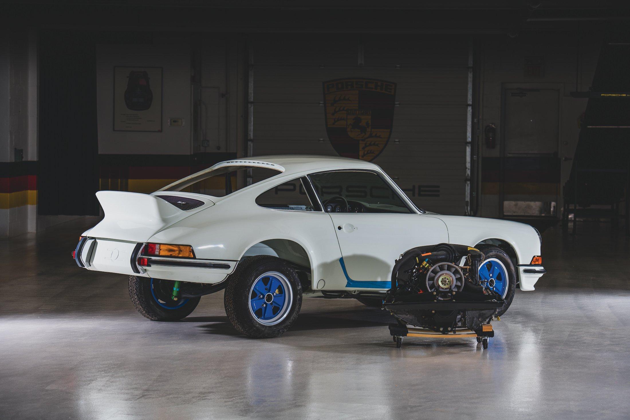 Half Million Dollar Project Car An Original 1973 Porsche 911 Carrera Rs 2 7