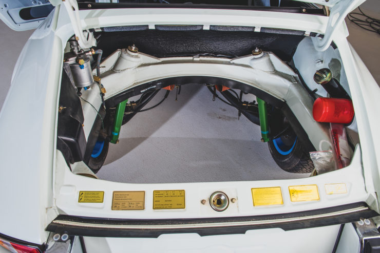 Porsche 911 Carrera RS 2.7 Engine Bay