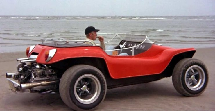 Steve McQueen Thomas Crown Dune Buggy