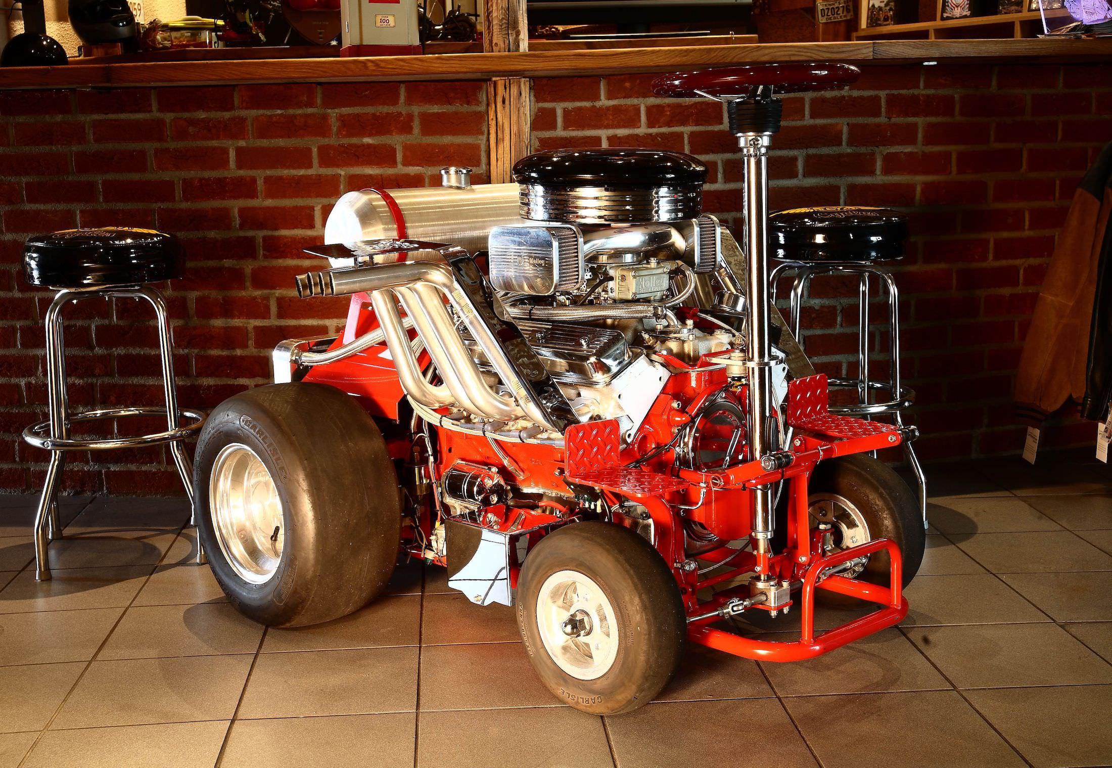 The Hoss Fly - A Chevrolet V8-Powered Bar Stool