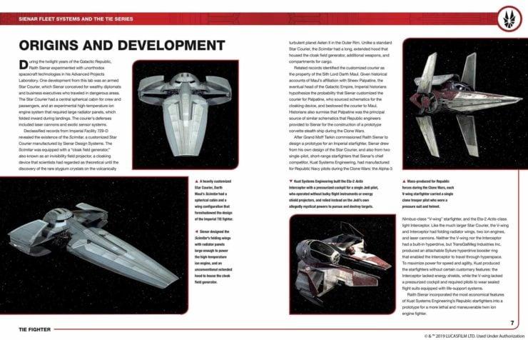 Tie Fighter Owner's Workshop Manual Inside Page 1