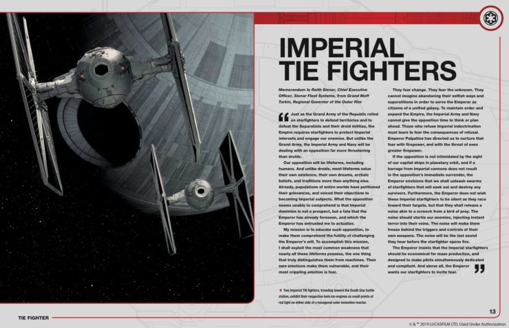 Tie Fighter Owner's Workshop Manual Internal Page 2