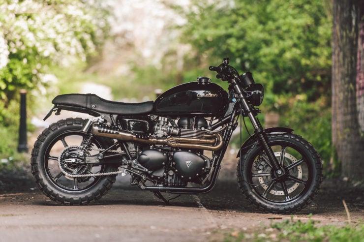 Triumph Bonneville SE Custom 6