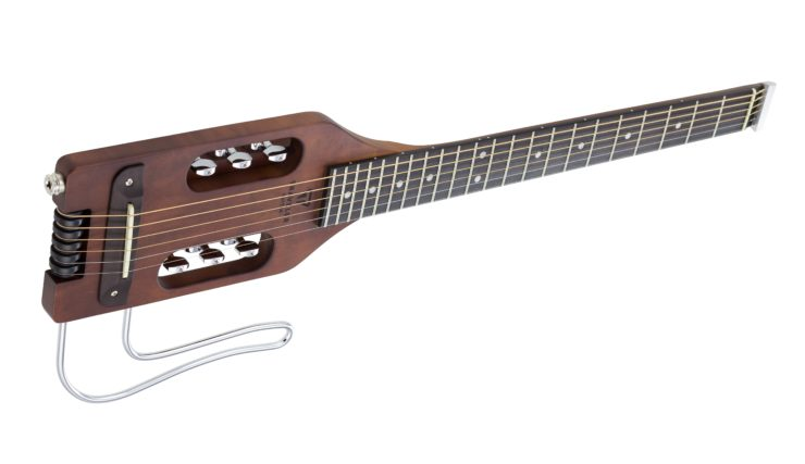 Ultra-Light Acoustic Travel Guitar Side