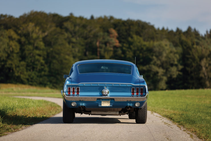 1968 Ford Mustang 428 Cobra Jet Back 2