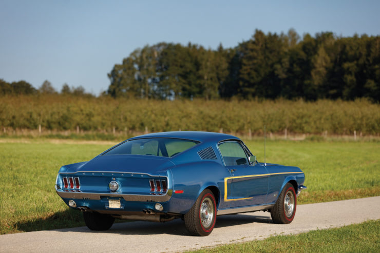 1968 Ford Mustang 428 Cobra Jet Back
