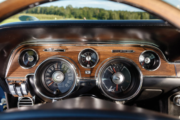 1968 Ford Mustang 428 Cobra Jet Dashboard