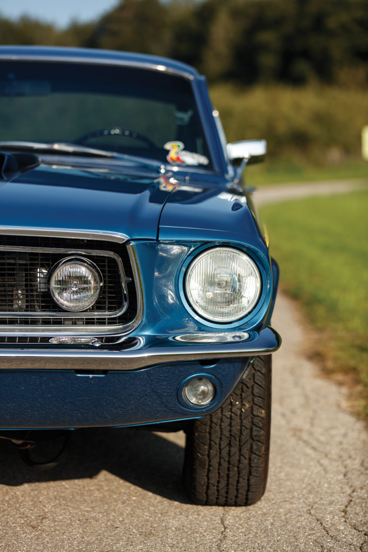 1968 Ford Mustang 428 Cobra Jet Front 2