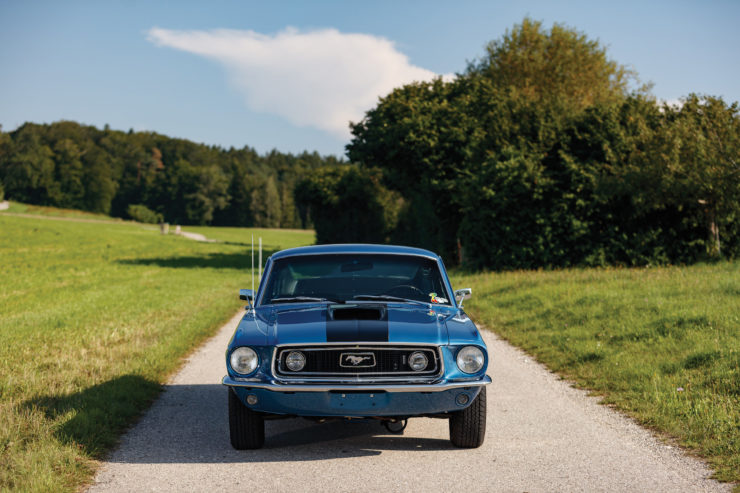 1968 Ford Mustang 428 Cobra Jet Front