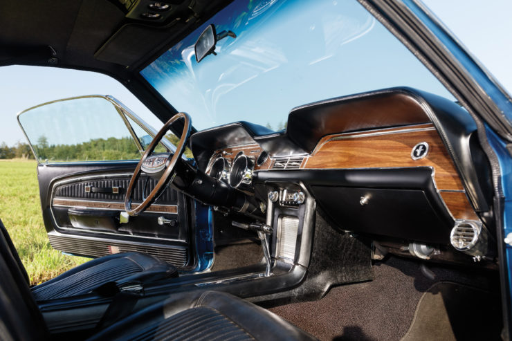 1968 Ford Mustang 428 Cobra Jet Interior 2