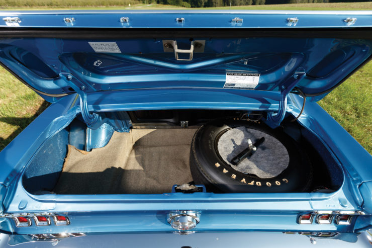 1968 Ford Mustang 428 Cobra Jet Trunk