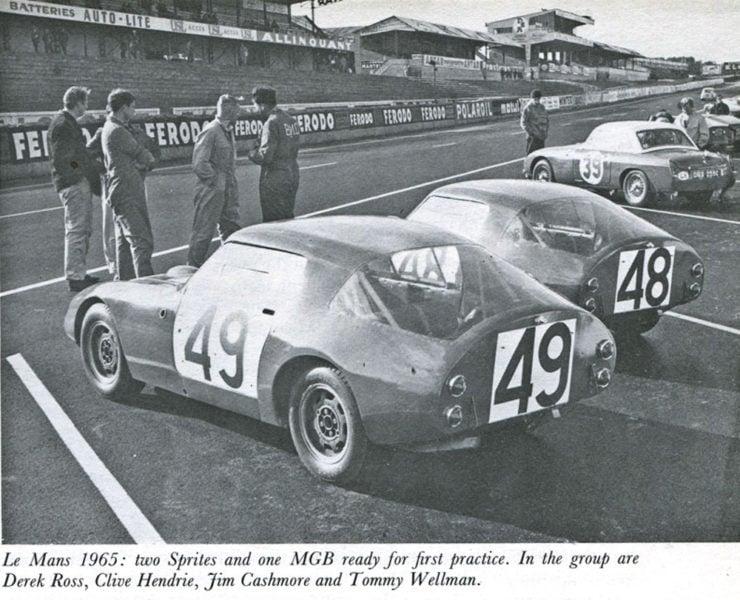 Austin Healey Sprite Le Mans