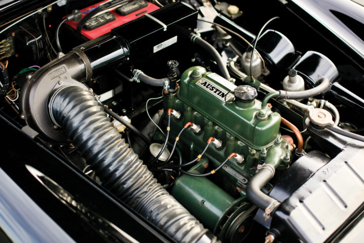 Austin Healey MkII sports car engine