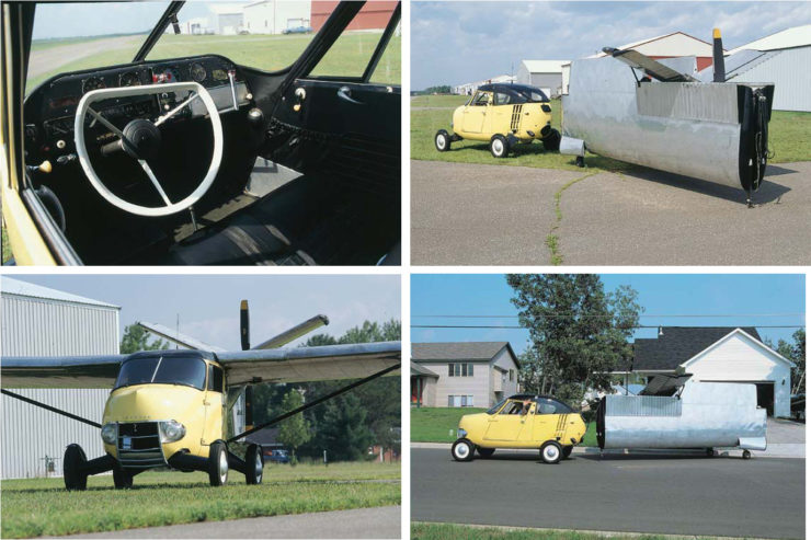 Aerocar One Collage
