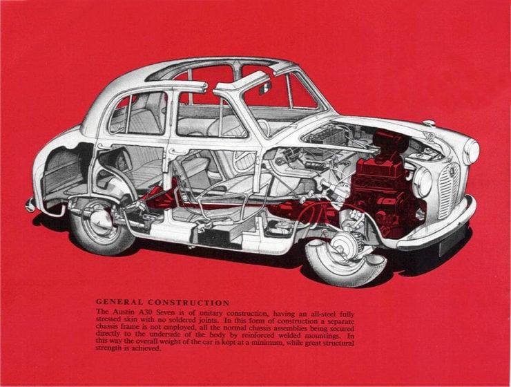 Austin A30 Cutaway