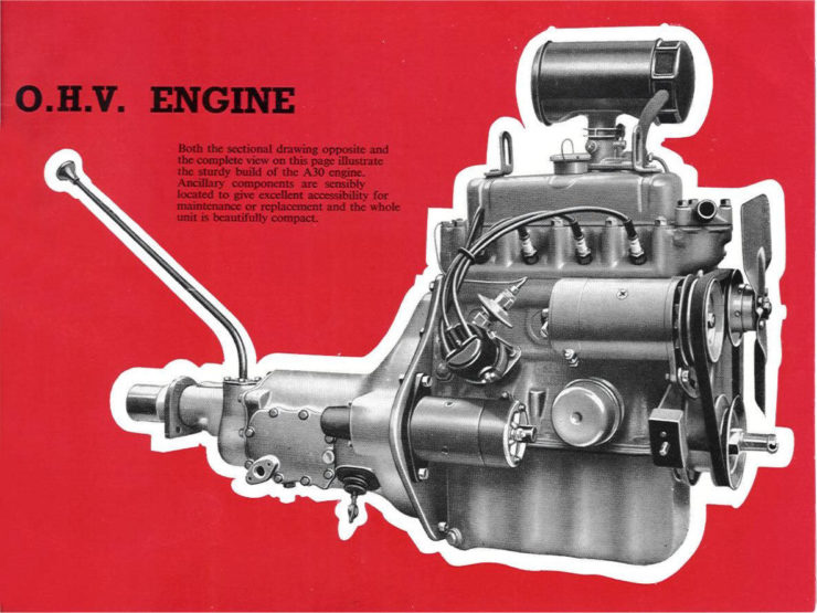Austin A30 Engine
