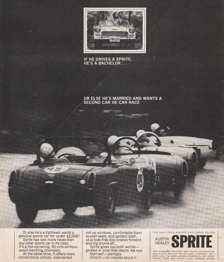 Austin-Healey Sprite Racing