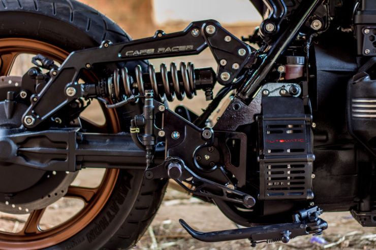 BMW K100 Cafe Racer CVT Transmission 1