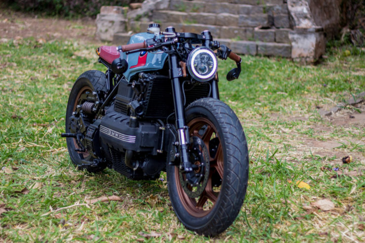 BMW K100 Cafe Racer Front 3