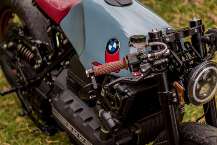 BMW K100 Cafe Racer Fuel Tank