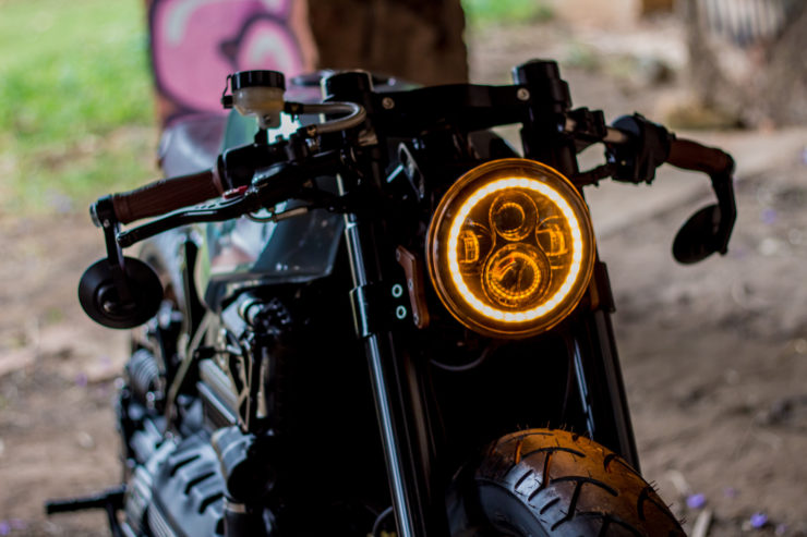 BMW K100 Cafe Racer Headlight