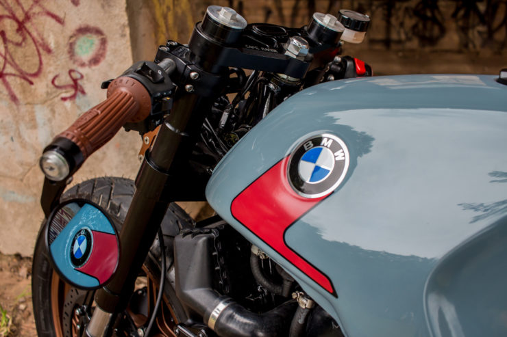 BMW K100 Cafe Racer Mirrors