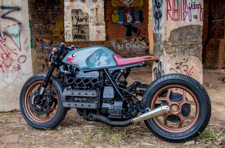 BMW K100 Cafe Racer Rear 2