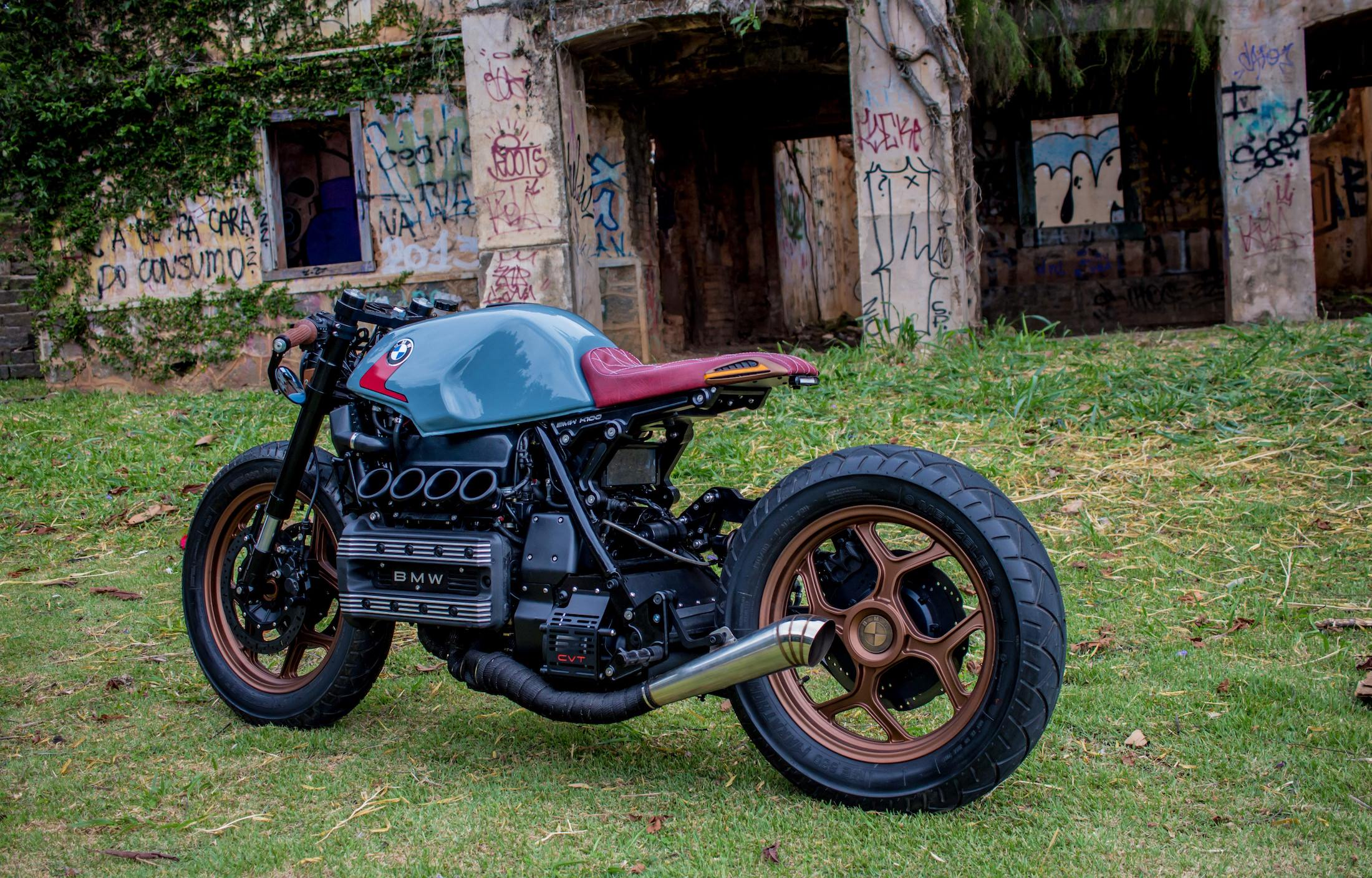 Custom K-100 Bike - elected the top 4 cafe racers in the