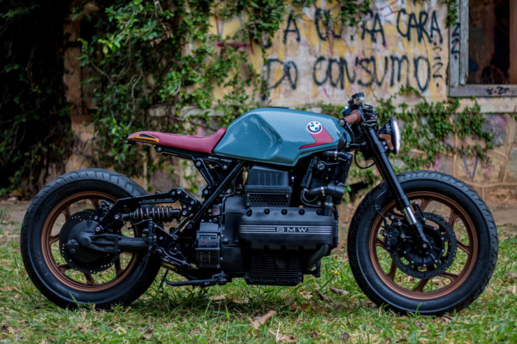 BMW K100 Cafe Racer Side 4