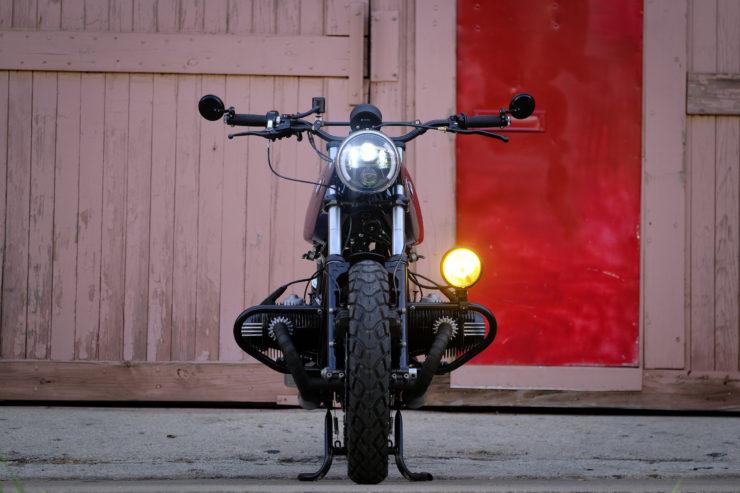 BMW R100RT Custom Back 2