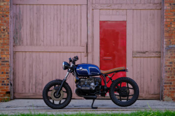 BMW R100RT Custom Side