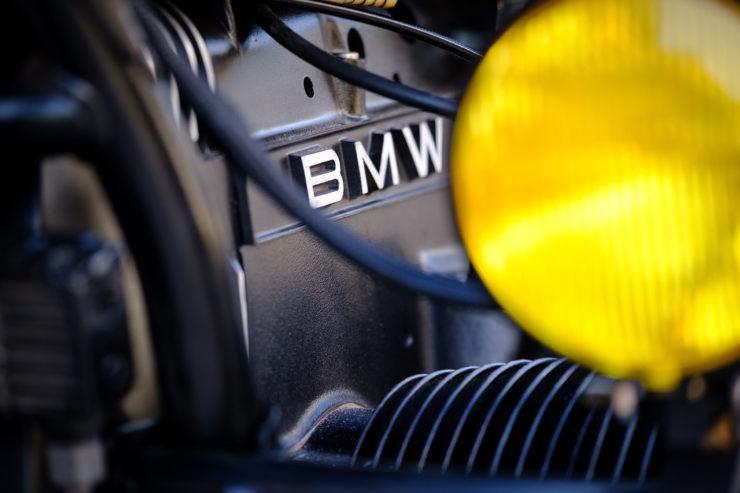 BMW R100RT Custom Yellow Spot Light