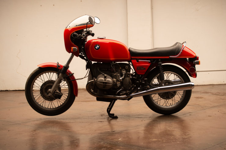 BMW R90S Left Side