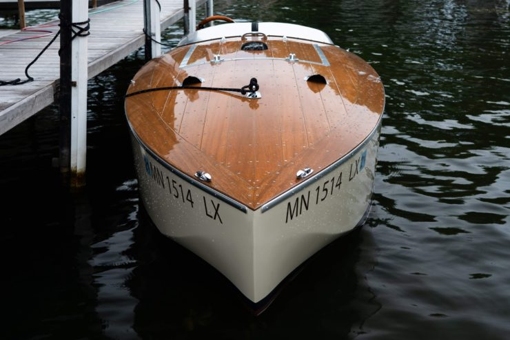 Bugbite Mahogany Speedboat Front