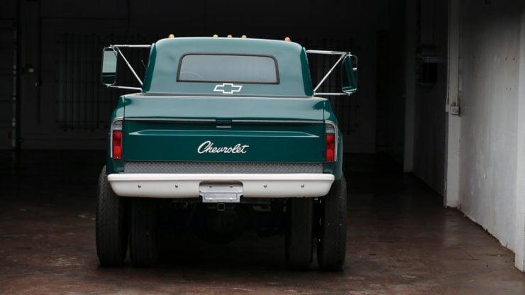 Chevrolet C50 Truck Back
