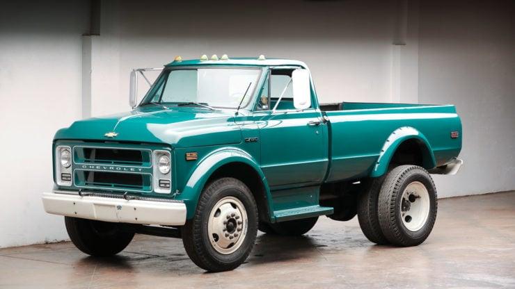 Chevrolet C50 Truck Front