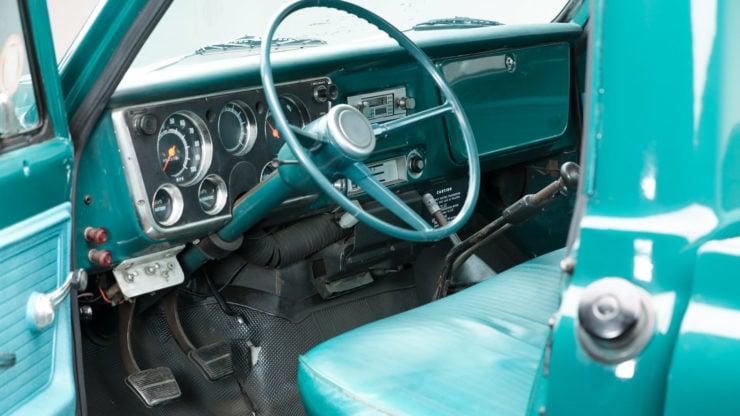 Chevrolet C50 Truck Interior