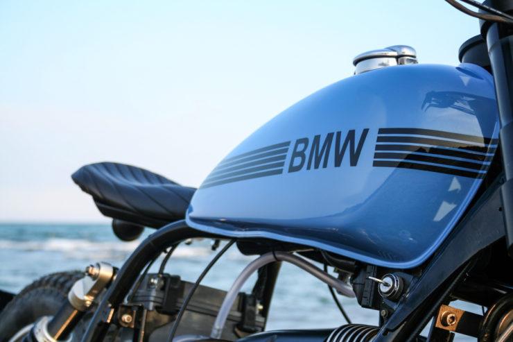 Custom BMW R80ST Seat