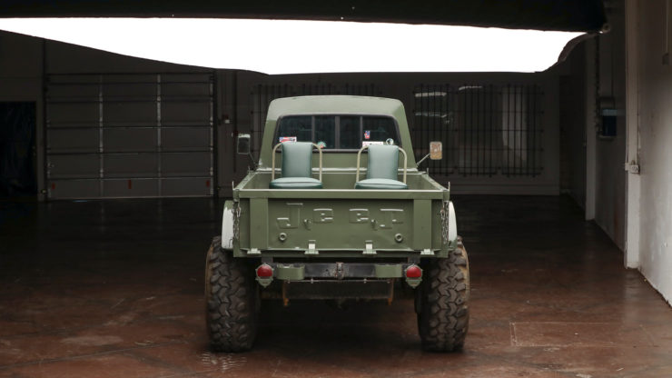 Custom Kaiser Jeep M715 Pickup Truck Back 2