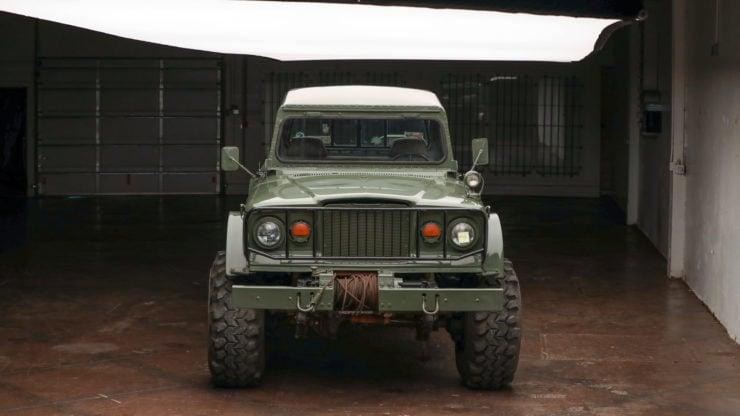 Custom Kaiser Jeep M715 Pickup Truck Front