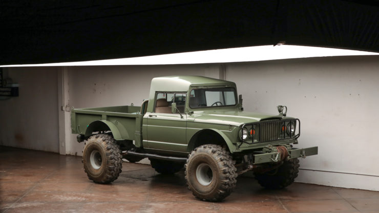 Custom Kaiser Jeep M715 Pickup Truck Main