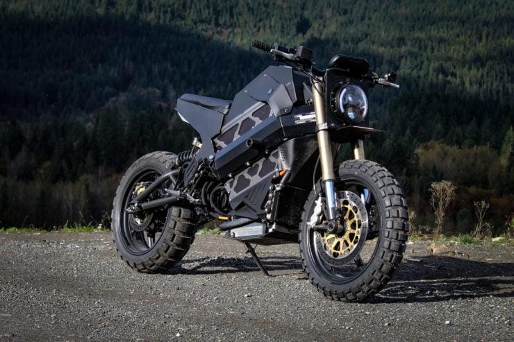 Droog Moto Electric Scrambler