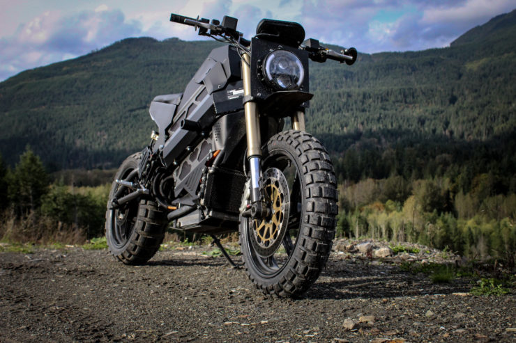 Electric Scrambler Front 2
