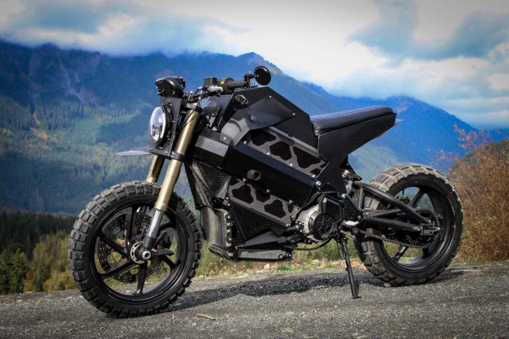 Electric Scrambler Motorbike