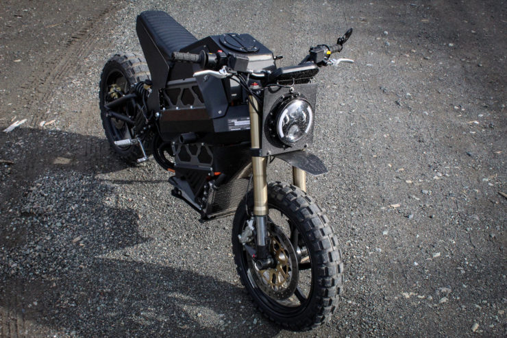 Electric Scrambler Top
