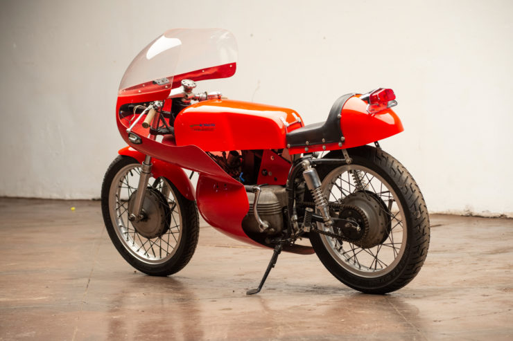 Harley-Davidson Aermacchi Race Bike Rear 2