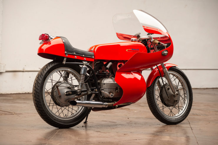 Harley-Davidson Aermacchi Race Bike Rear